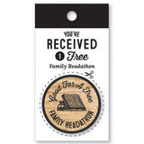 Wooden Nickel - Family Readathon