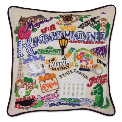 Richmond Hand-Embroidered Pillow