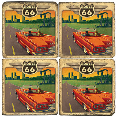 Route 66 Drink Coasters
