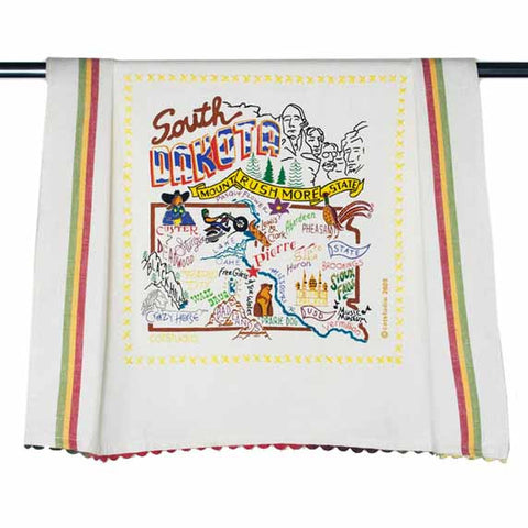 State of South Dakota Dish Towel