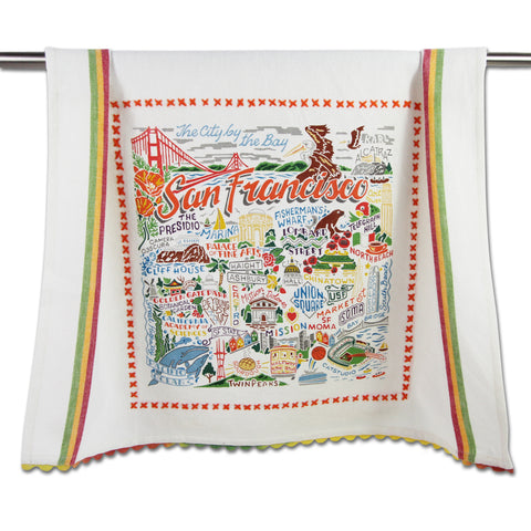 San Francisco City Dish Towel