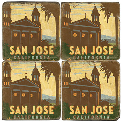 San Jose Drink Coasters