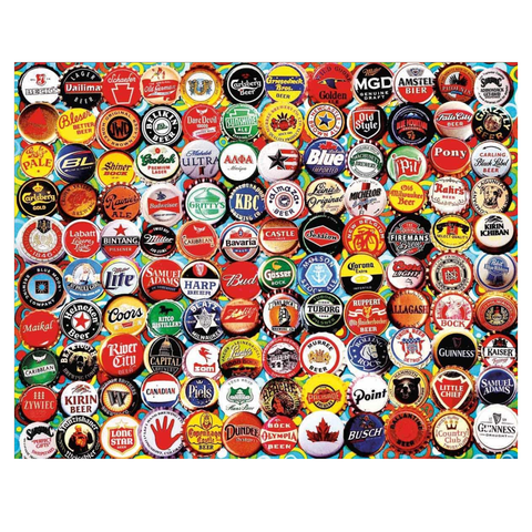 Beer Bottle Caps Puzzle