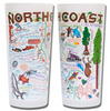 North Coast Frosted Glass Tumbler