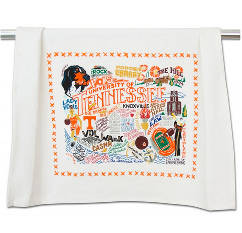 University of Tennessee Collegiate Dish Towel
