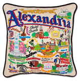 Alexandria Hand-Embroidered Pillow