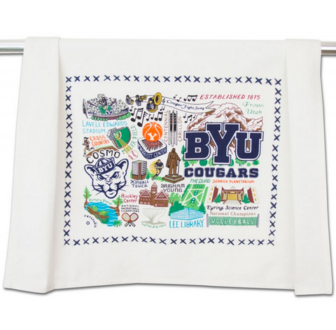 Brigham Young University Collegiate Dish Towel