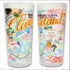 Cleveland Frosted Glass Tumbler