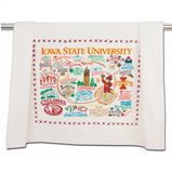 Iowa State University Collegiate Dish Towel