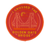 I Crossed the Golden Gate Bridge Patch