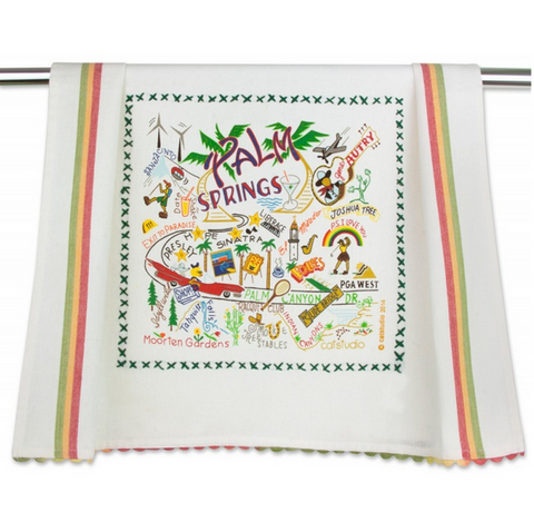 Palm Springs Dish Towel