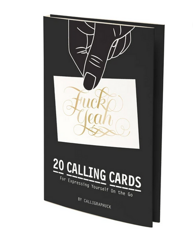 F#@% Yeah! Calling Cards