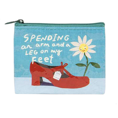Spending an Arm Coin Purse