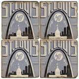 St. Louis Arch Drink Coasters