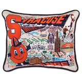 Syracuse University Collegiate Embroidered Pillow