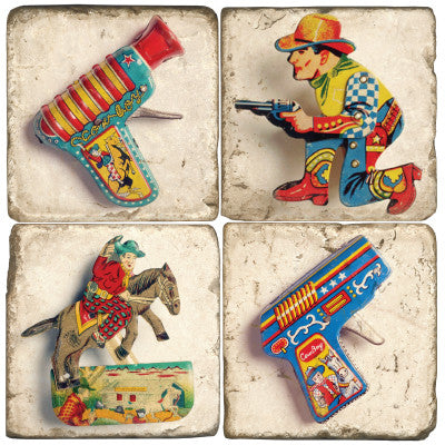 Tin Toy Drink Coasters