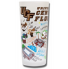 University of Central Florida Collegiate Frosted Glass Tumbler