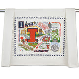 University of Illinois Collegiate Dish Towel