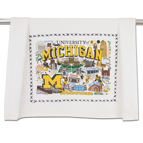 University of Michigan Collegiate Dish Towel
