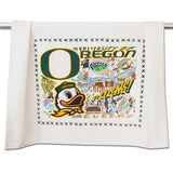 University of Oregon Collegiate Dish Towel