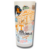 University of Tennessee Collegiate Frosted Glass Tumbler