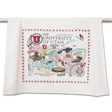 University of Utah Collegiate Dish Towel