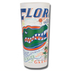 University of Florida Collegiate Frosted Glass Tumbler