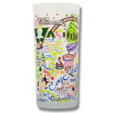 State of Washington Frosted Glass Tumbler