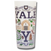 Yale University Collegiate Frosted Glass Tumbler