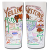 Yellowstone Frosted Glass Tumbler