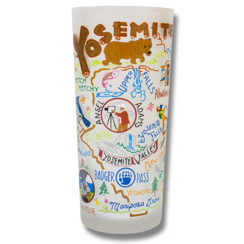Yosemite Frosted Glass Tumbler