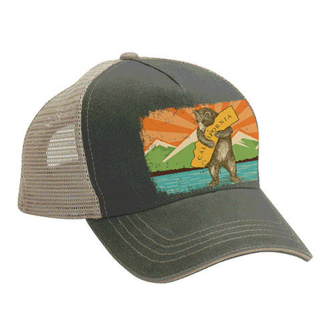 Bear Hug Sunset Trucker Hat