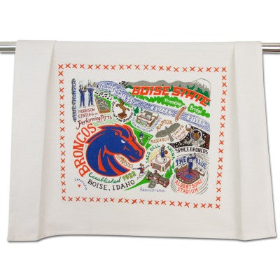 Boise State University Collegiate Dish Towel