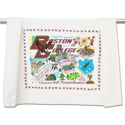 Boston College Collegiate Dish Towel