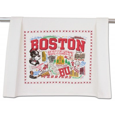 Boston University Collegiate Dish Towel