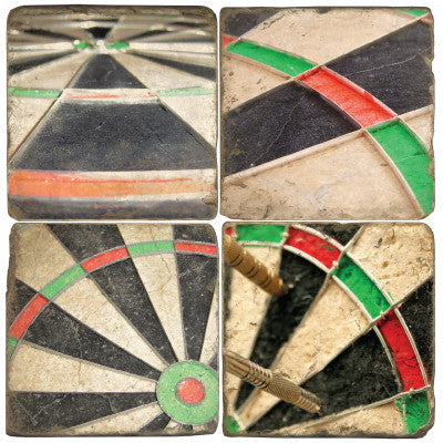 Dartboard Drink Coasters