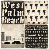 West Palm Beach Drink Coasters