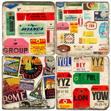 World Travel Drink Coasters