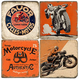 Motorcycles Drink Coasters