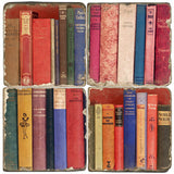 Book Bindings Drink Coasters
