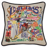 Dallas Hand-Embroidered Pillow