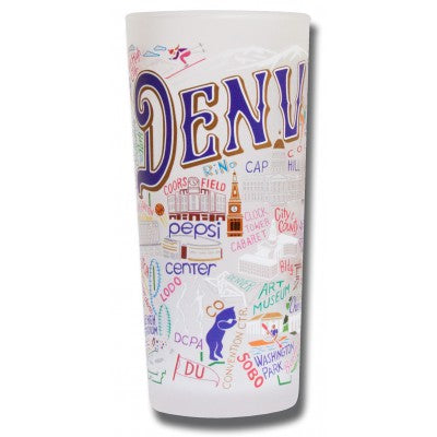 Denver Frosted Glass Tumbler