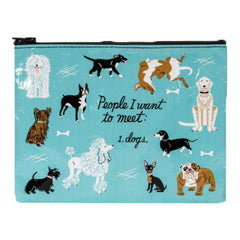 People I Want to Meet Zipper Pouch