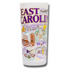 East Carolina University Collegiate Frosted Glass Tumbler