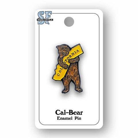CA Bear Enamel Pin