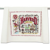 Harvard University Collegiate Dish Towel