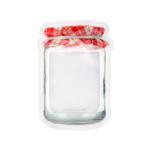 Jam Jar Zipper Bags - Medium