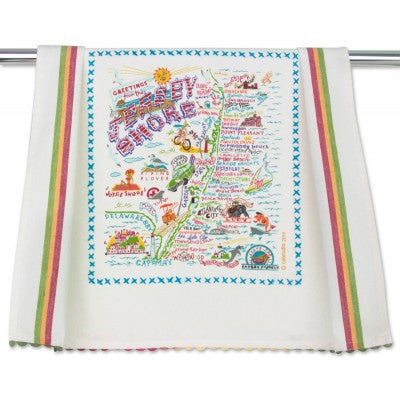 Jersey Shore Dish Towel