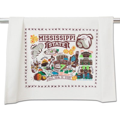 Mississippi State University Collegiate Dish Towel