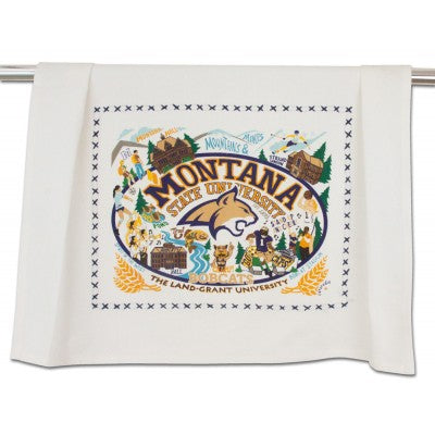 Montana State University Collegiate Dish Towel
